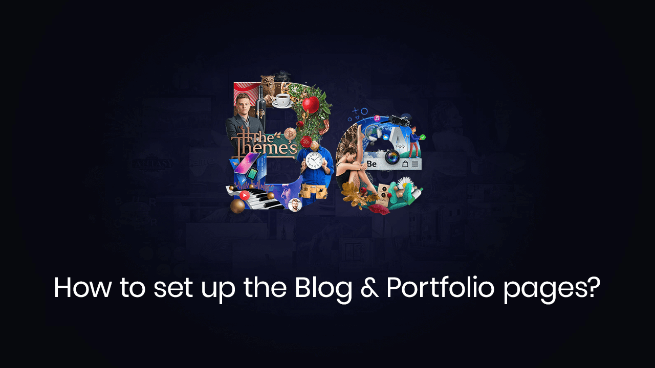 How to Set Up the Blog and Portfolio pages