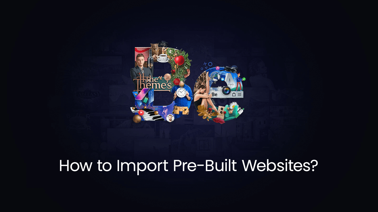 How to Import Pre-Built Websites