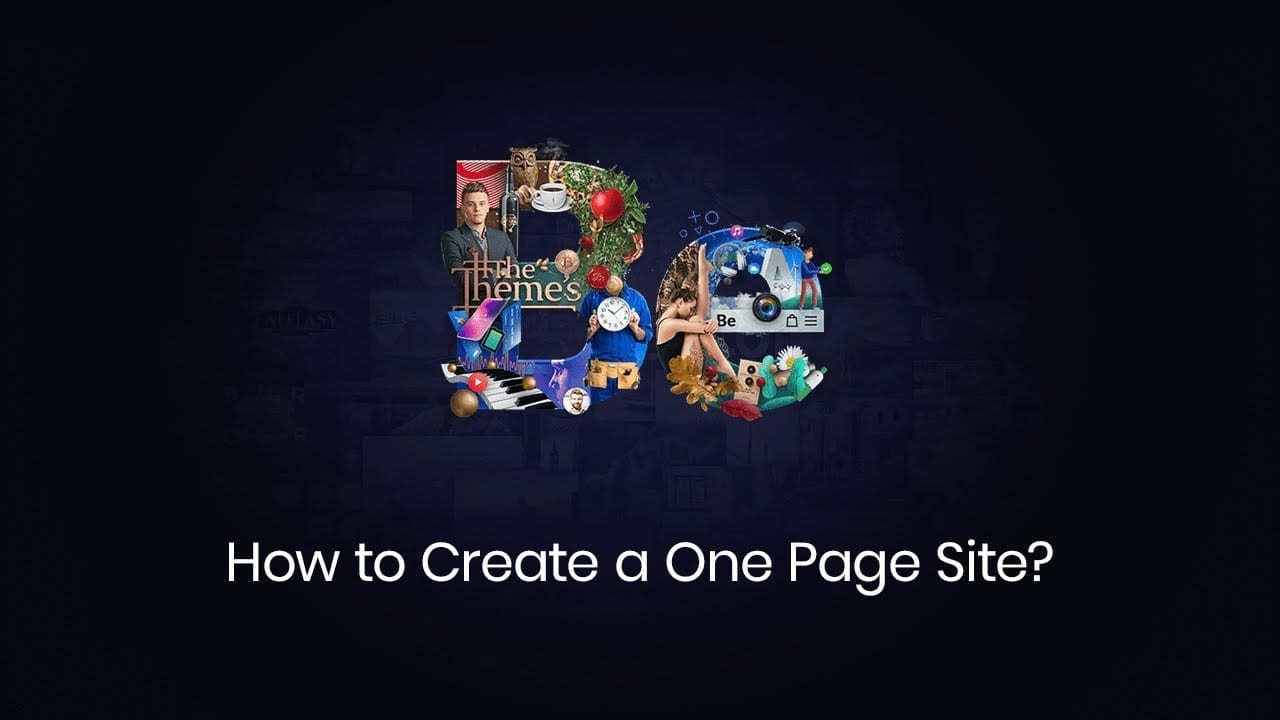 How to Create a One Page site with Muffin Builder