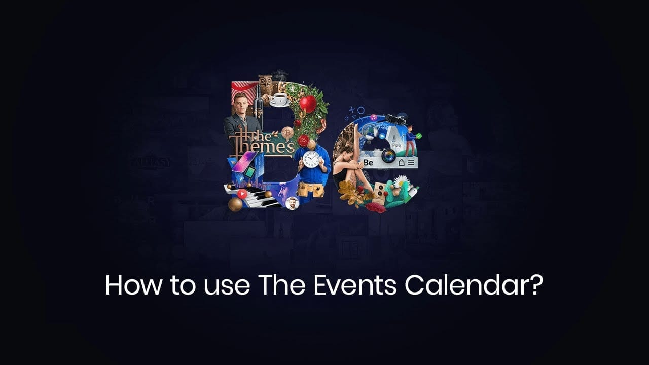How to use The Events Calendar with Betheme?