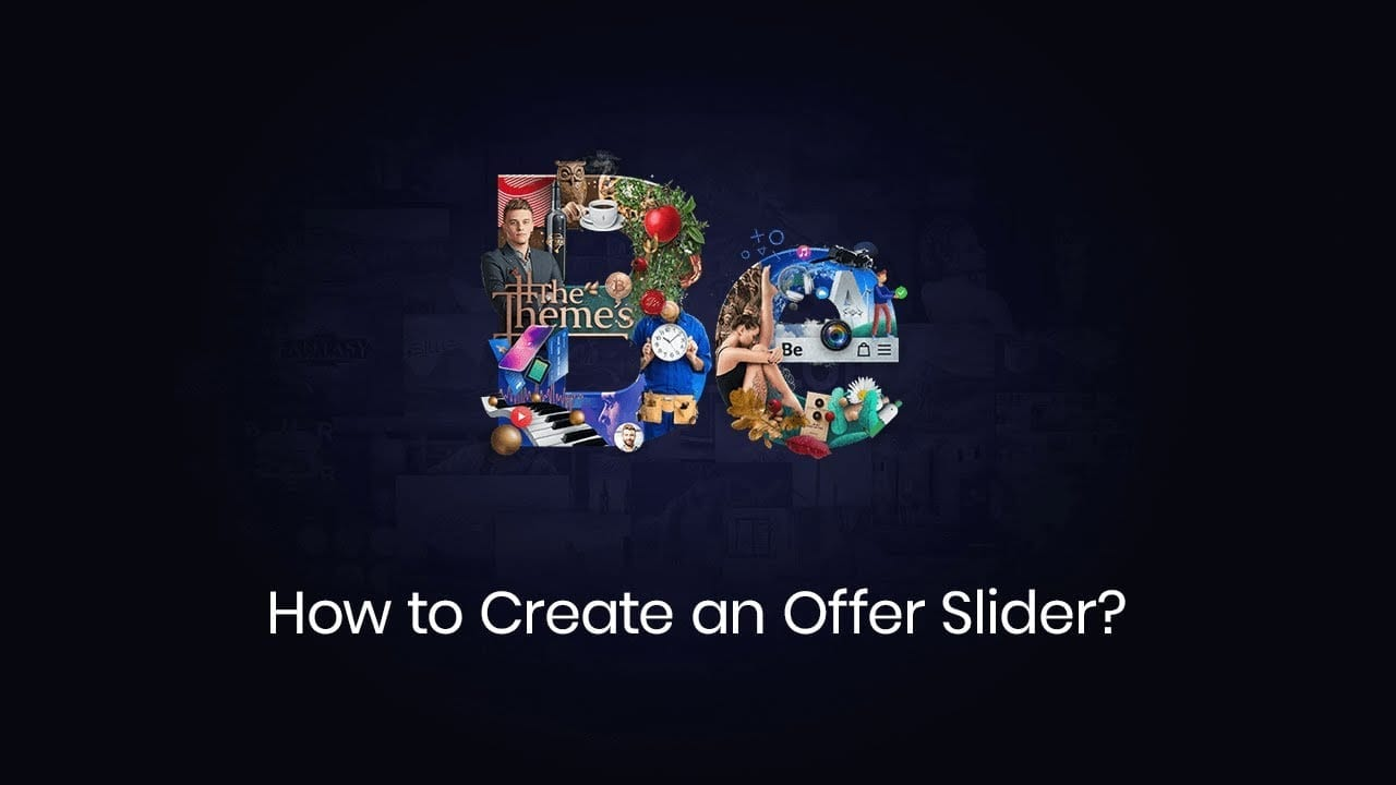 How to Create an Offer Slider?