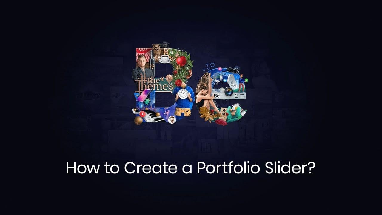 How to Create a Portfolio Slider?