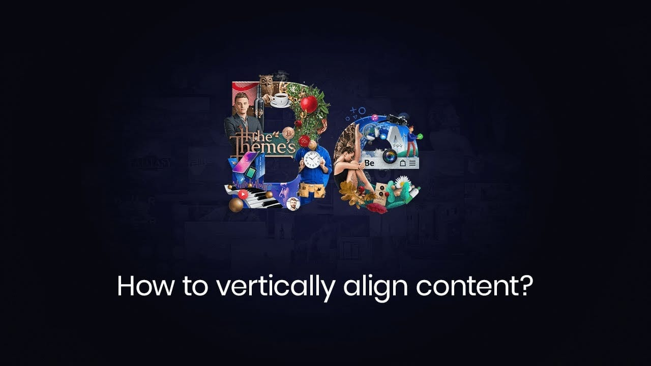 How to align content vertically?
