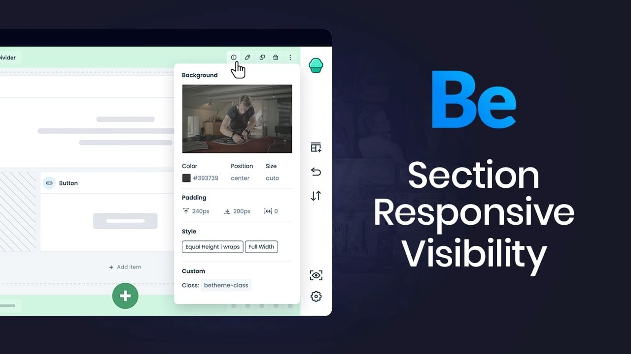 How to use Responsive Visibility feature?