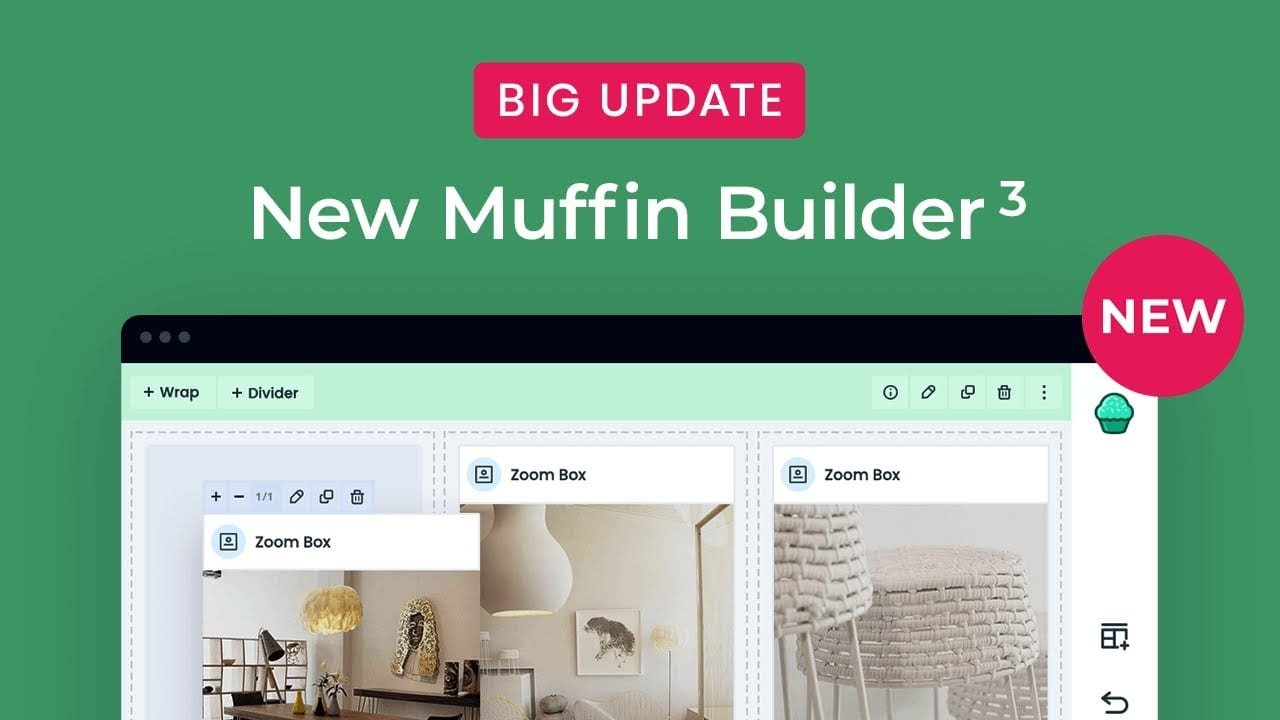 An overview of Muffin Builder 3
