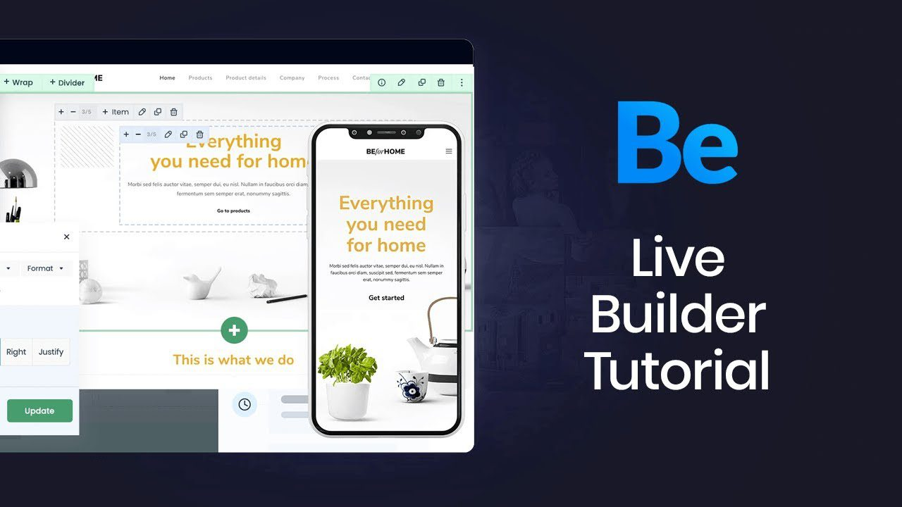 How to use Muffin Live Builder