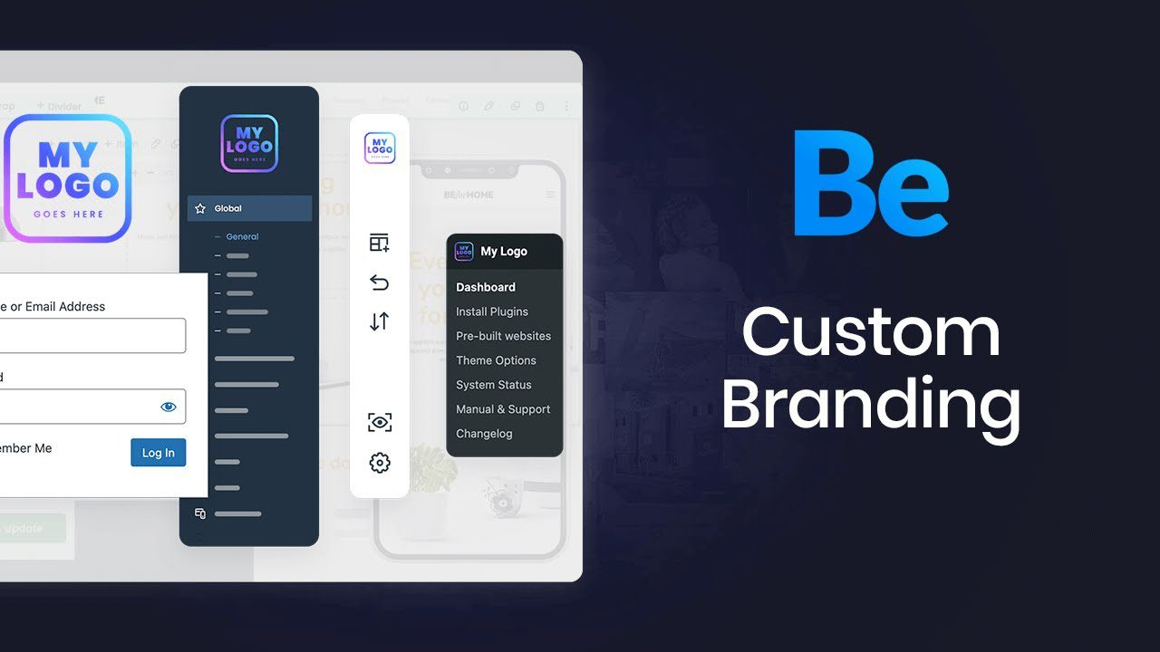 How to Rebrand Be and WP Admin with the BeCustom Branding Tool?
