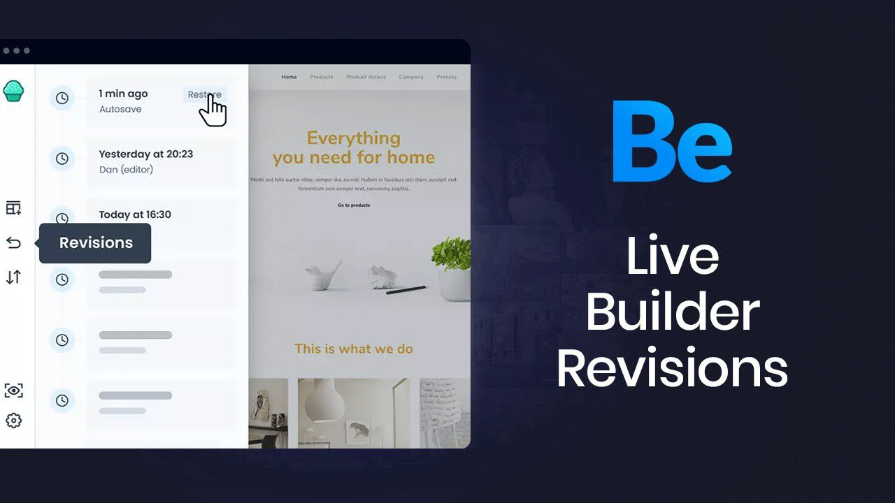 How to Manage Revisions in Muffin Live Builder?